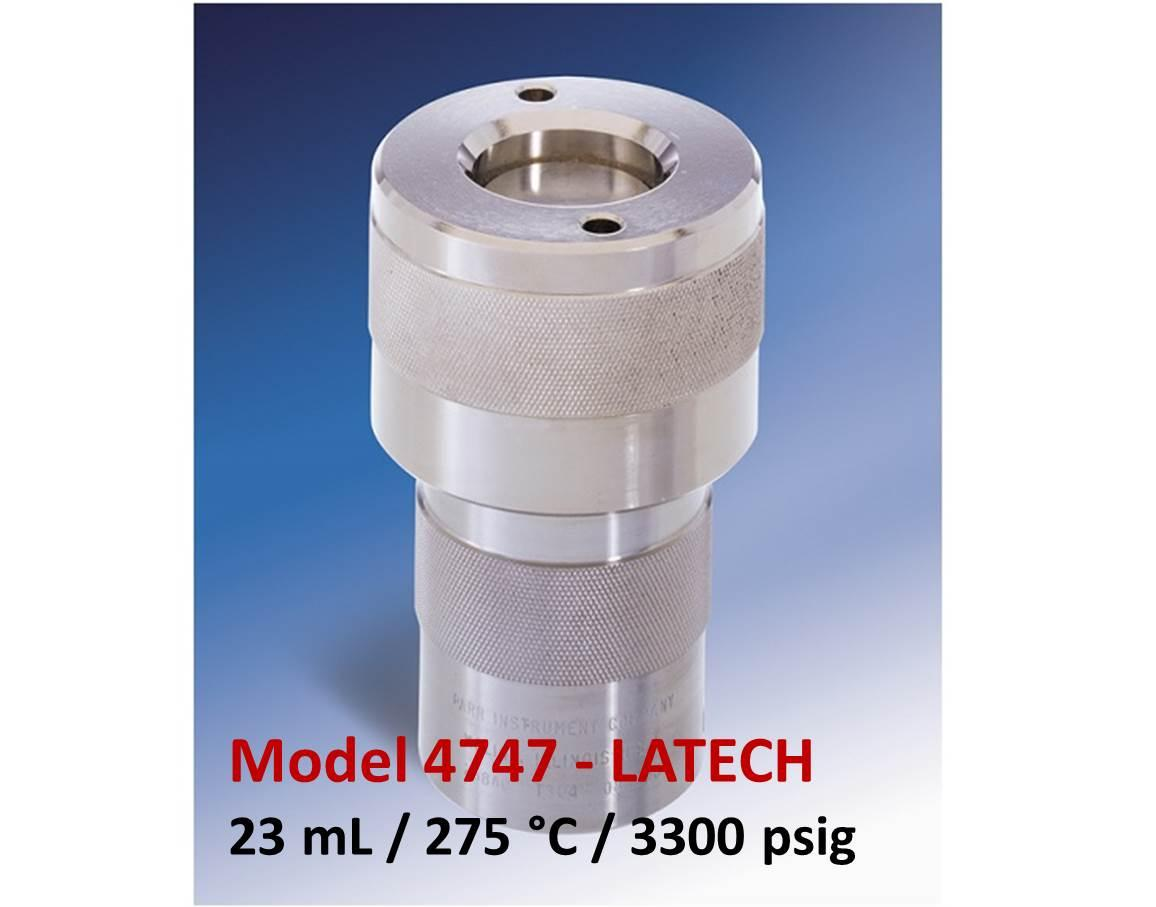 Parr 4747 - 23 mL (3300 psig)