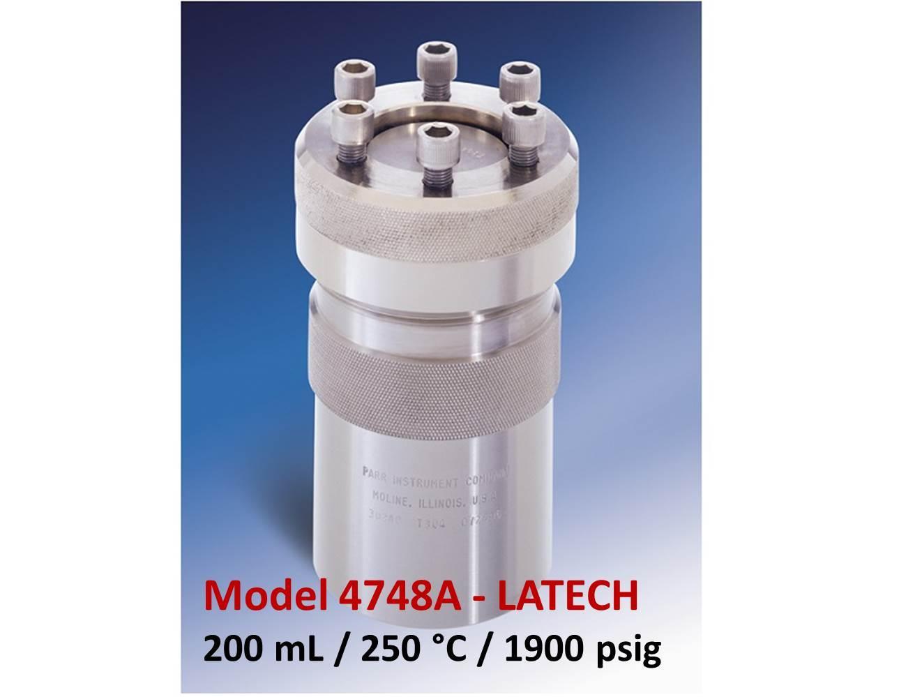 Parr 4748A - 200 mL