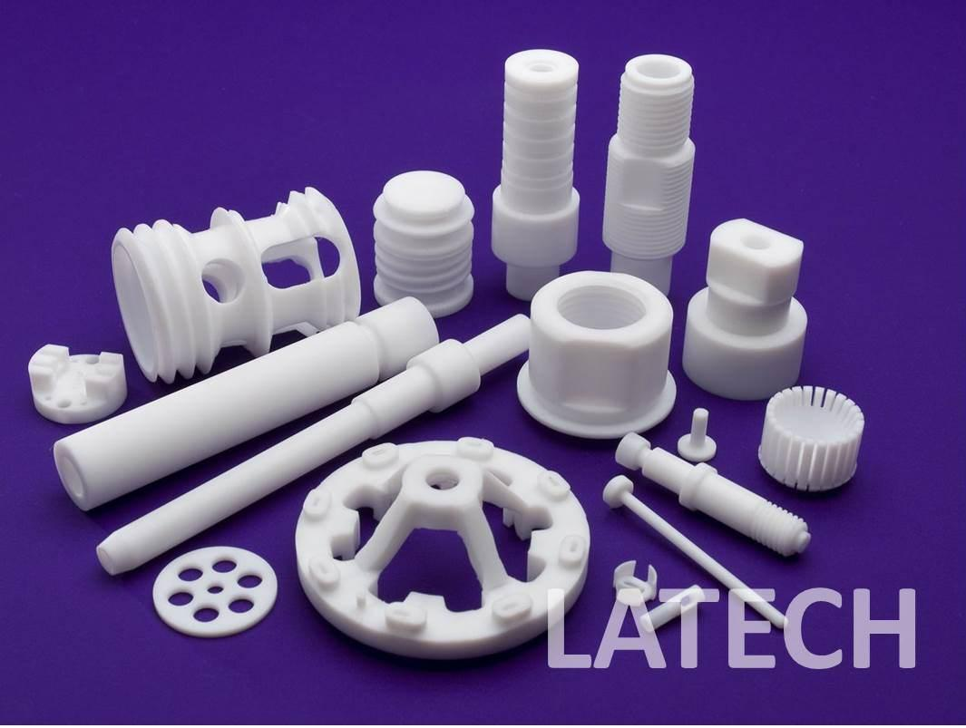 Ptfe teflon machining product detail latech